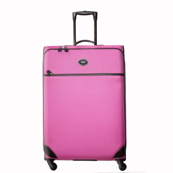 Brics Pronto 25-inch Pink Spinner Trolley Upright Suitcase