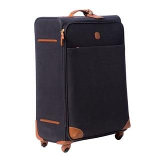 Brics Life Navy/Cognac 30-inch 4-wheel Large Spinner Upright Suitcase