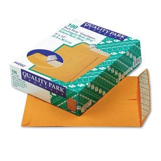 Quality Park Brown Kraft Redi-Strip Catalog Envelope