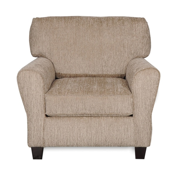 Sofab Angel II Pewter Chenille Chair