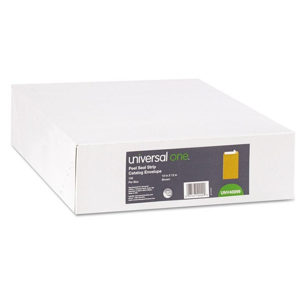 Universal One Kraft Pull & Seal Catalog Envelope
