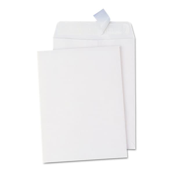 Universal One White Pull & Seal Catalog Envelope