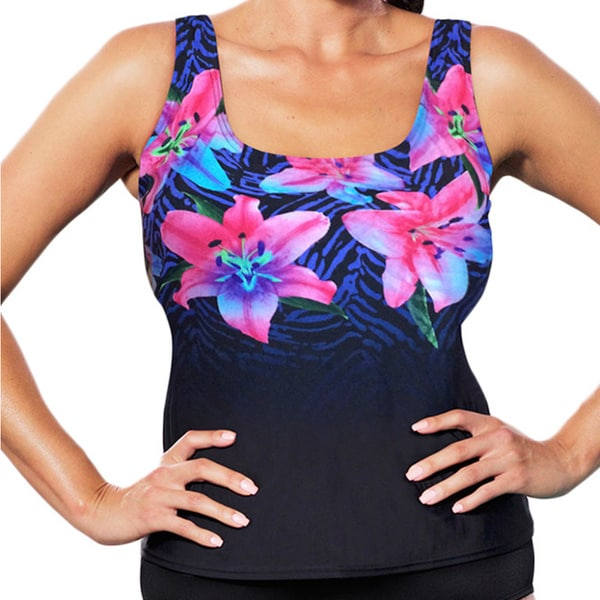 Aquabelle Sugarlily Tankini Top