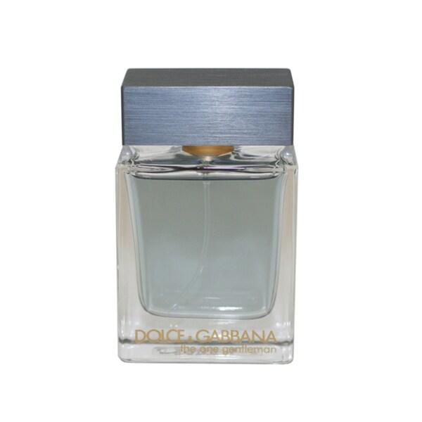 Dolce & Gabbana The One Gentleman Men's 1.6-ounce Eau de Toilette Spray (Unboxed)