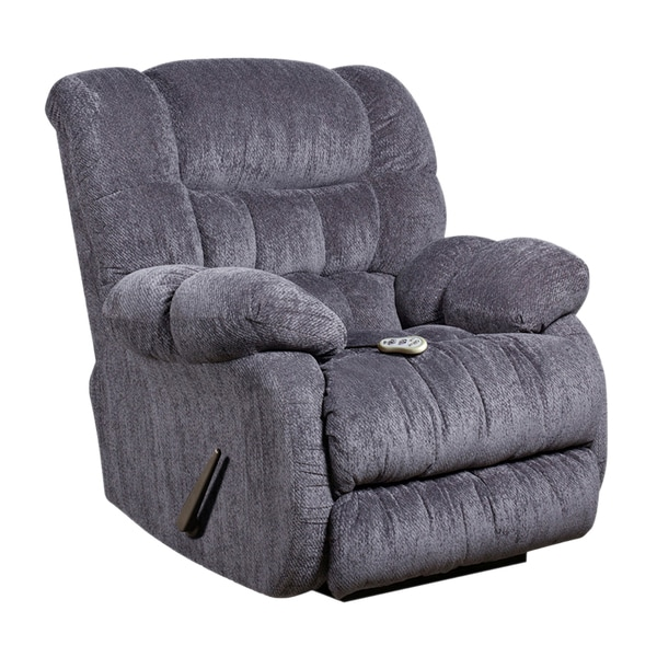 Massaging Columbia Microfiber Recliner with Heat Control