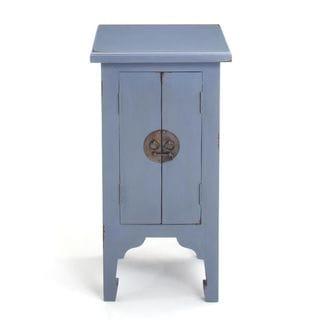 Dillard Casual Blue Square Accent Table