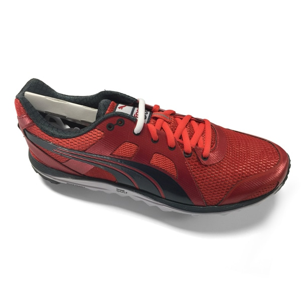 Puma Men's 187644-02 Red/ Black Faas Lite Mesh 2.0 Golf Shoes