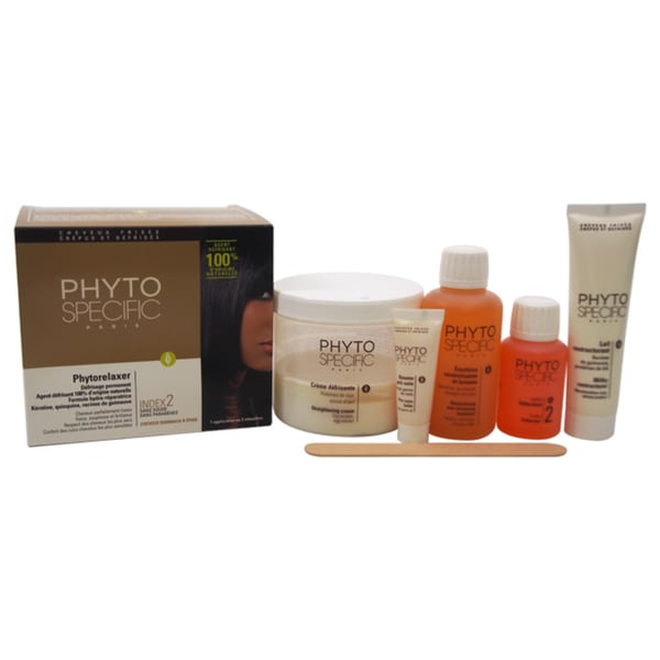 Phytospecific Phytorelaxer Index 2 Normal To Thick Hair 5-piece Kit