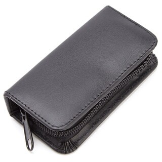 Royce Leather Executive Chromeplated Mini-manicure Kit