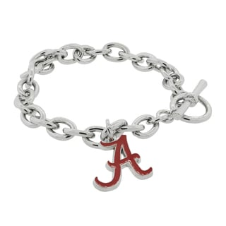 NCAA Sports Team Logo Chain Bracelet