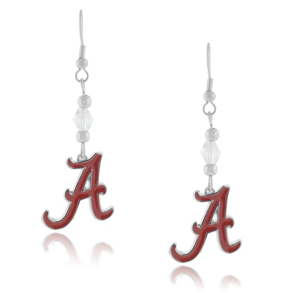 NCAA Sports Team Logo Dangle Earrings