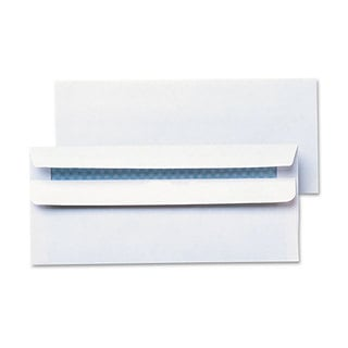 Universal One White Self-Seal Business Envelope