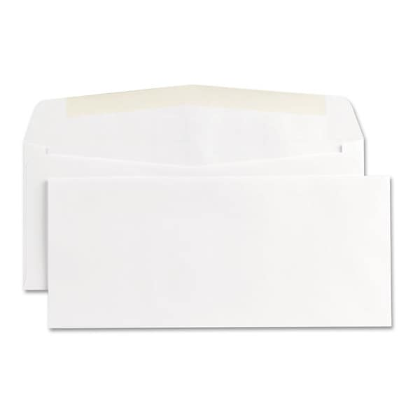 Universal White Business Envelope