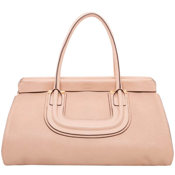 Chloe Everston Beige Leather Tote