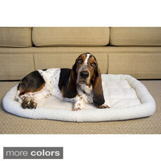 Iconic Pet Premium Synthetic Sheepskin Handy Bed Assortment