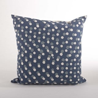 Dotted 20-inch Down Filled Throw Pillow