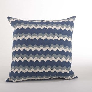 Zig Zag 20-inch Down Filled Throw Pillow