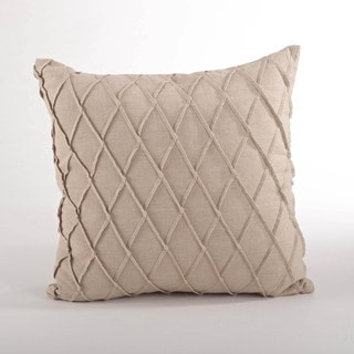 Pintuck Down Filled Throw Pillow