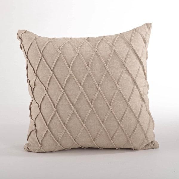 Pintuck Down Filled Throw Pillow - 17228701 - Overstock.com Shopping - Great Deals on Throw Pillows
