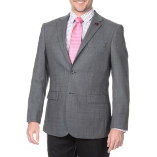 Protomoda Europa Men's Grey Lambs Wool Jacket
