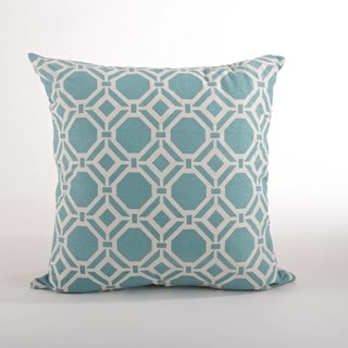 Geo 20-inch Down Filled Throw Pillow