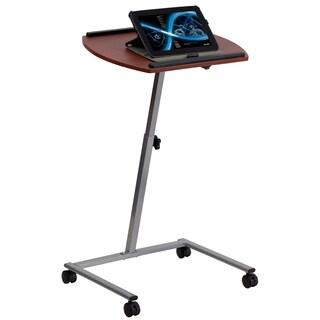 Extendable Dark Finish Comupter Desk
