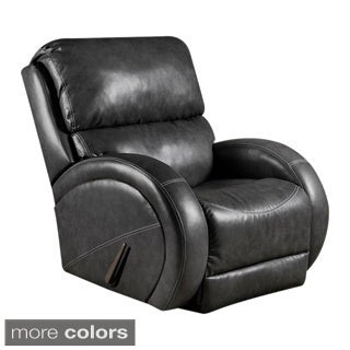Offex Contemporary Leather Rocker Recliner