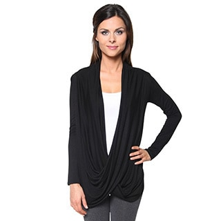 Free to Live Women's Lightweight Criss-Cross Pullover Cardigan