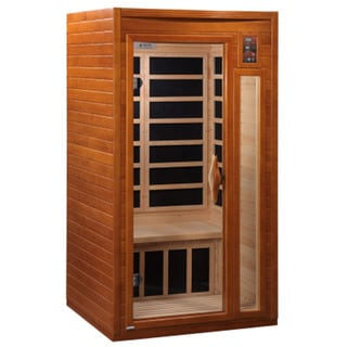 Dynamic 1 - 2 Person Far Infrared Barcelona Hemlock Wood Sauna / DYN-6106-01