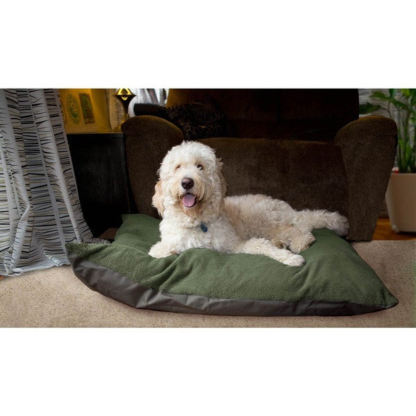 Furhaven Terry Top Throw Pillow Pet Bed