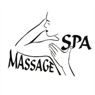Massage Spa Vinyl Wall Art