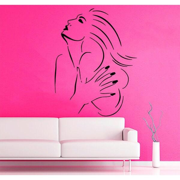 Beauty Salon Sticker Vinyl Wall Art 15276402