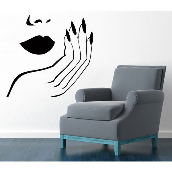Nails Sticker Vinyl Wall Art
