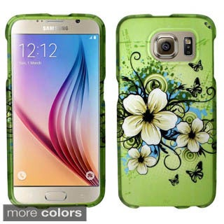 Insten Pattern Hard Slim Snap-on Rubberized Matte Phone Case Cover For Samsung Galaxy S6