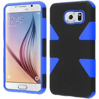 Insten Dynamic Hard PC/ Silicone Dual Layer Hybrid Rubberized Matte Phone Case Cover For Samsung Galaxy S6