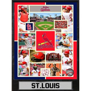 St. Louis Cardinals 9-inch x 12-inch Plaque