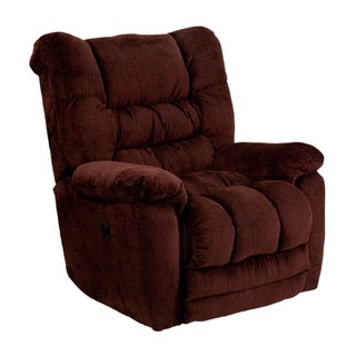 Offex Temptation Contemporary Microfiber Push Button Power Recliner