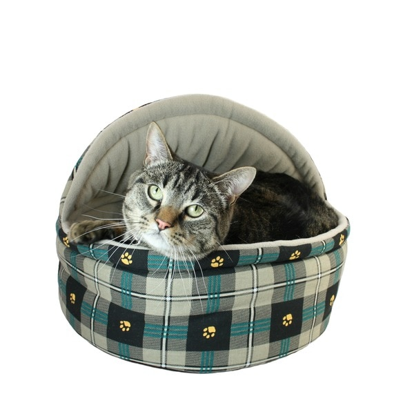 Hidden Valley Plaid/ Beige Cat Cabana