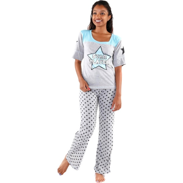 Hadari Women's 'Start Player' Pajamas Set