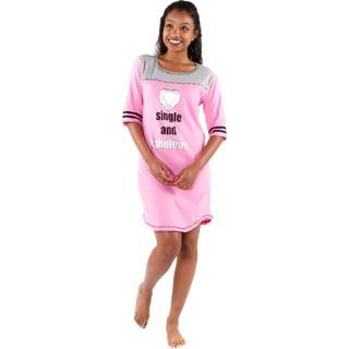 Hadari Women's 'Single and Fabulous' Pajamas