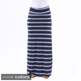 Hadari Women's Striped Maxi Skirt