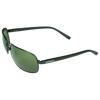 Serengeti Rimini Satin Black Polarized PHD 555 Lens Sunglasses