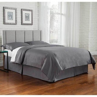 Fashion Bed Group Geneva Upholstered Headboard Panel with Vertical Panels