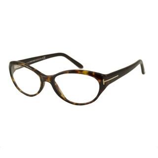 Tom Ford Women's TF5244 Rectangular Reading Glasses