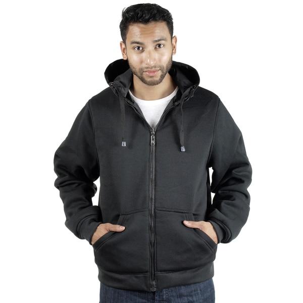 Rock Revolution Men's Reversible Zip-Up Hooded Jacket