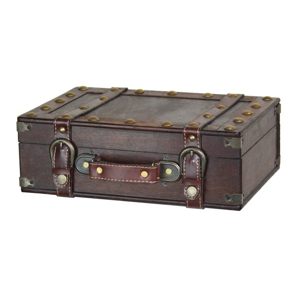 Antique Style Small Suitcase