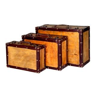 Old Vintage Suitcase (Set of 3)