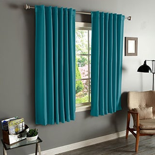 Lights Out Solid Insulated Thermal Blackout Curtains Panel Pair