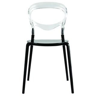 Transparent Evo Acrylic Dining Side Chair