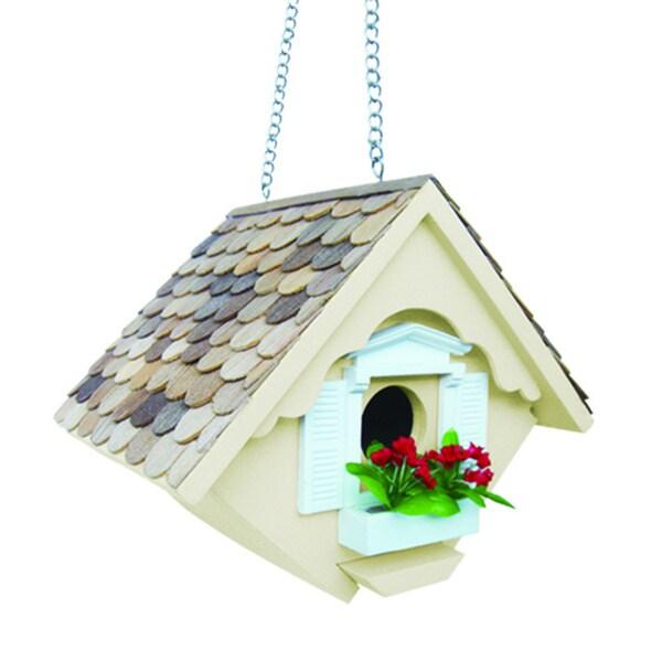 Little Wren Yellow Bird House